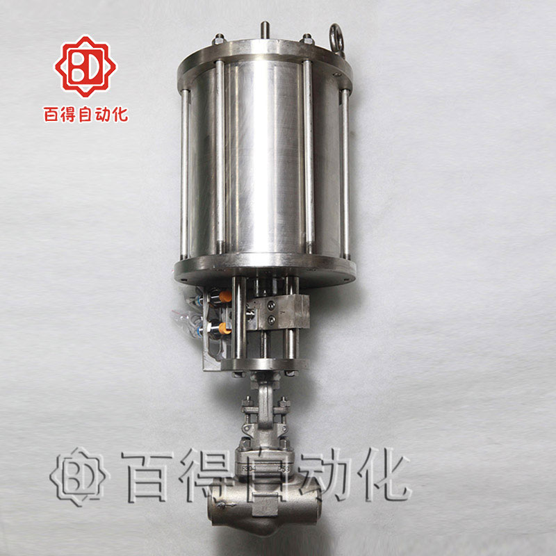 焊接式气动锻钢截止阀
