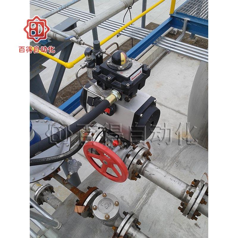 气动阀门在常熟汇海化工某工段
