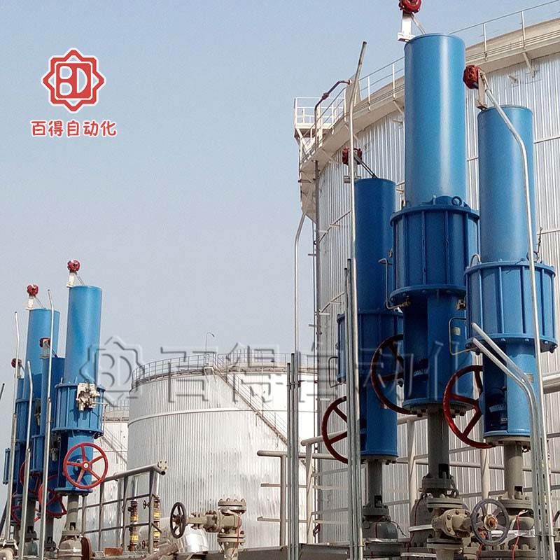 气动闸阀在潍坊森达美港某工程安装