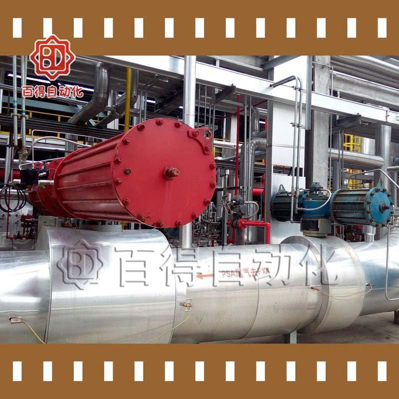 气动执行器在中海油泰州石化调试