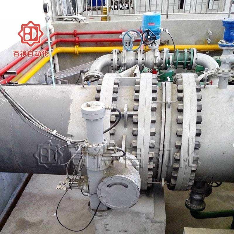 液控水电蝶阀在西藏林芝朗县工字弄电厂安装调试