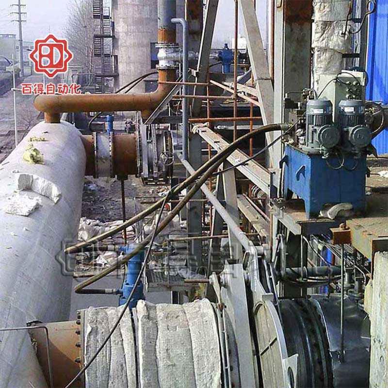 液控快关阀在山东台儿庄某煤业某工段