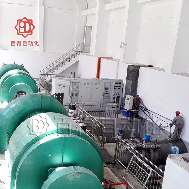 液控水电蝶阀在西藏林芝某电厂安装