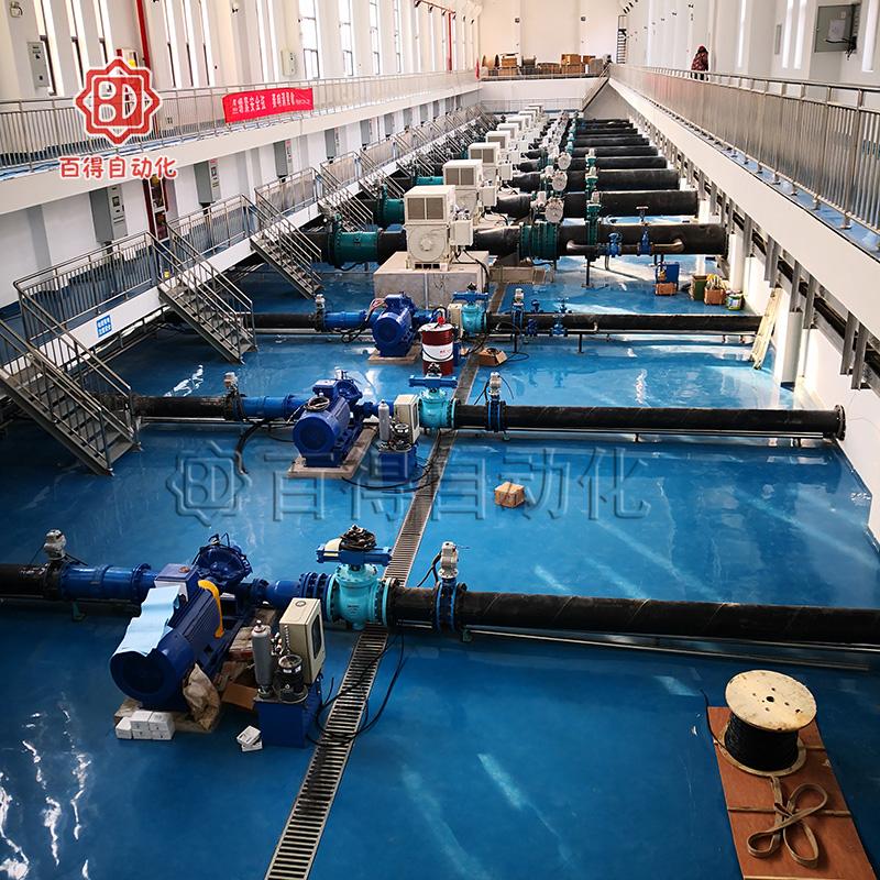 液控偏心半球阀在延安延川高家湾水厂